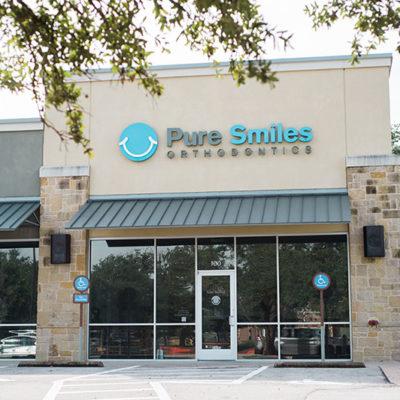 Pure Smiles Orthodontics in Austin Tx - Signage